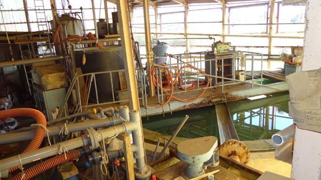 排水処理工場